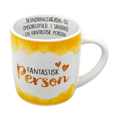 ENJOY MUG FANTASTISK PERSON (DK)