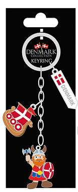 CHARM KEYRING VIKING/SHIP (6)