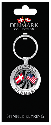 FRIENDSHIP KEYRING DEN/USA (6)