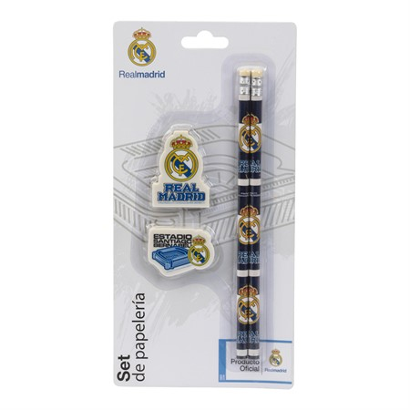 STATIONERY KIT REAL MADRID