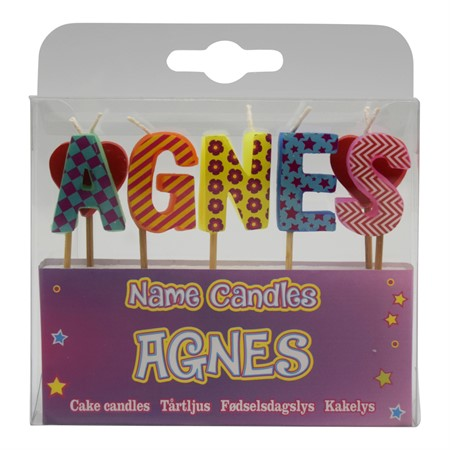 NAME CANDLE AGNES (2)