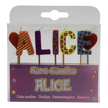 NAME CANDLE ALICE (2)