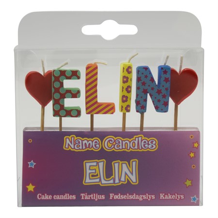 NAME CANDLE ELIN (2)