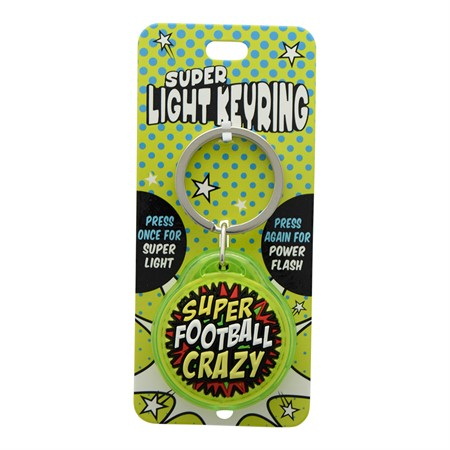 SUPER LIGHT KEYRING FOTBALL CRAZY (2)