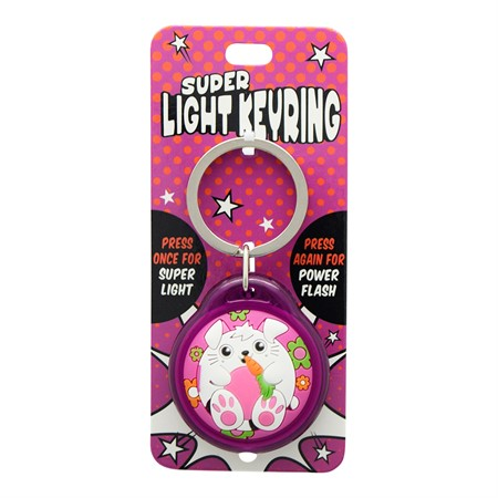 SUPER LIGHT KEYRING RABBIT(2)