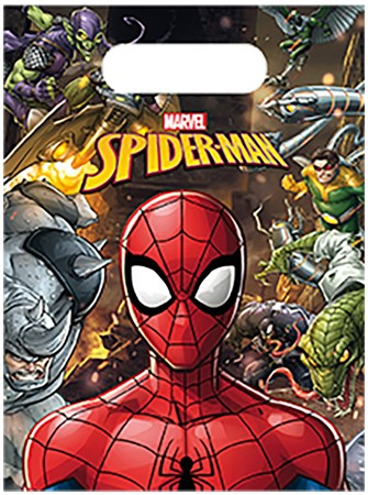 PARTY BAGS SPIDER MAN 6-P
