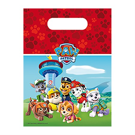 PARTY BAGS PAW PATROL 6-P