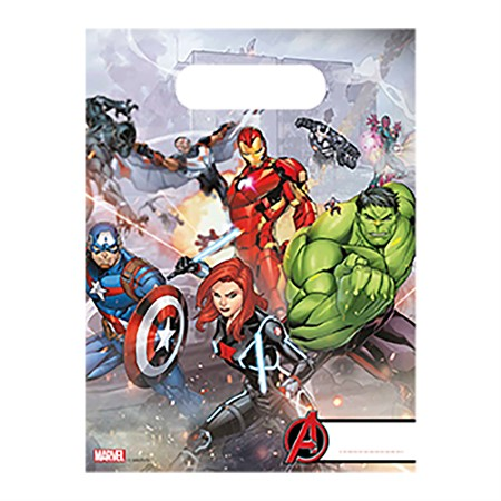 PARTY BAGS AVENGERS 6-P
