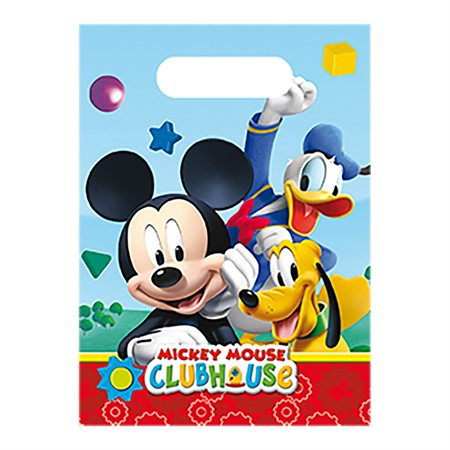 PARTY BAGS MICKEY 6-P