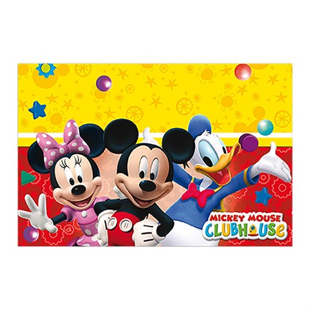 TABLE COVER MICKEY 120 X 180 CM