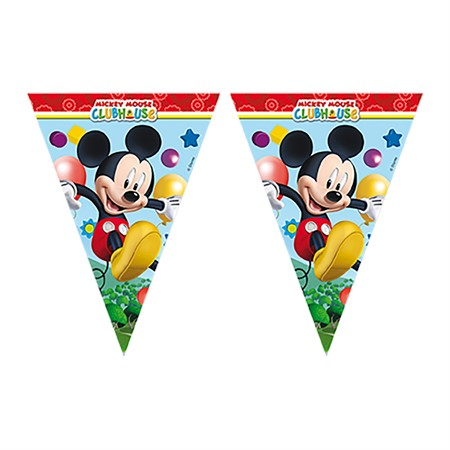 FLAG BANNER MICKEY