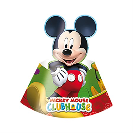 PARTY HAT MICKEY 6-P