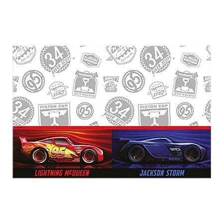 TABLE COVER CARS 120 X 180 CM