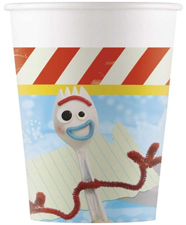 PAPER CUP TOY STORY 4 8-P