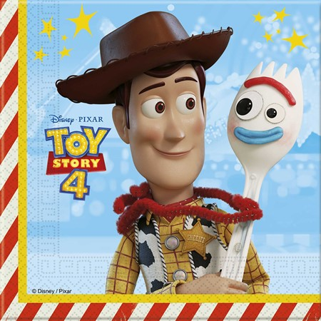 PAPER NAPKINS TOY STORY 4 20-P