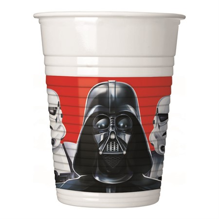 PLASTIC CUP STAR WARS 8-P
