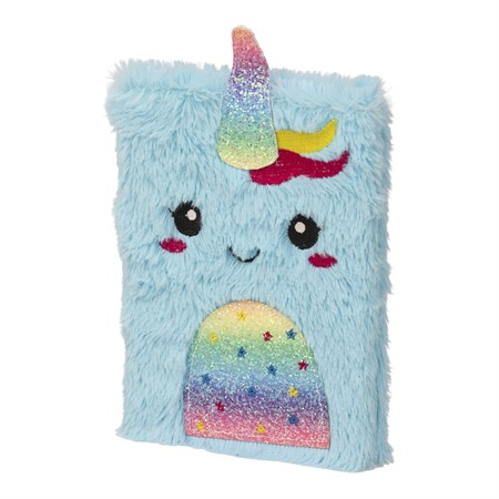 NOTEBOOK PLUSH UNICORN (6)