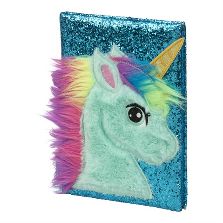 NOTEBOOK PLUSH UNICORN PONY (6)