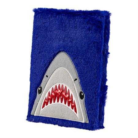 NOTEBOOK PLUSH SHARK (6)