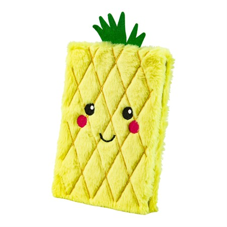 NOTEBOOK PLUSH PINEAPPLE (6)