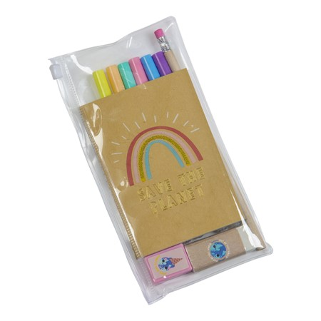 STATIONERY SET SAVE THE PLANET
