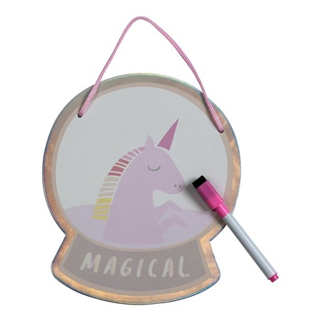 WHITEBOARD MAGICAL UNICORN