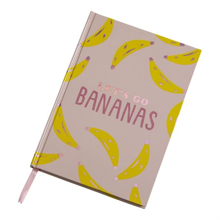 NOTEBOOK LET'S GO BANANAS