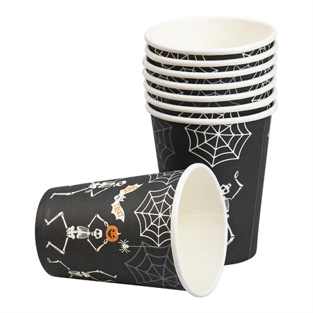 PAPER CUPS SKELETON 8-P (6)