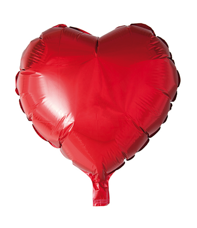 FOIL BALLOON HEART RED 46 CM (6)