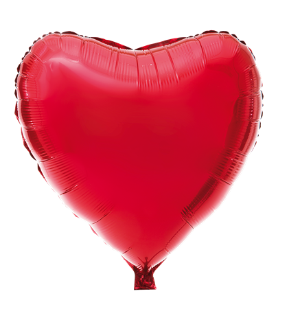 FOIL BALLOON BIG RED HEART (6)
