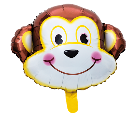FOIL BALLOON MONKEY (6)
