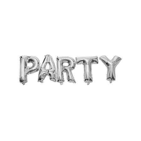 FOIL BALLOON TEXT PARTY 40 CM (6)