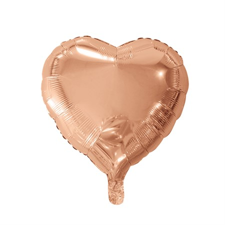 FOIL BALLOON HEART ROSE GOLD 46 CM (6)