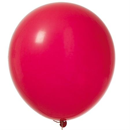 "BALLOONS 12"" RED 100P"