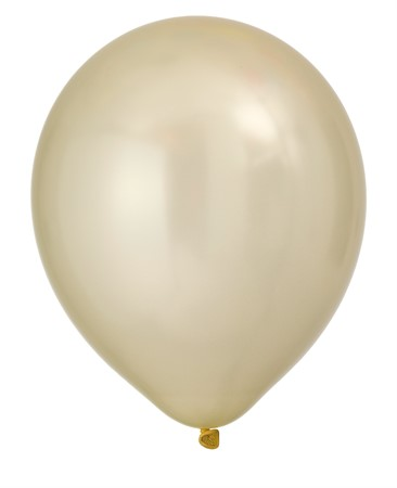 "BALLOONS 12"" PEARL IVORY 8-P (6)"
