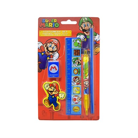 STATIONERY KIT SUPER MARIO (12)