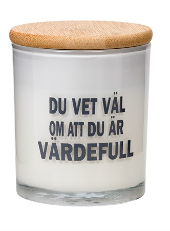 SCENTED CANDLE VÄRDEFULL