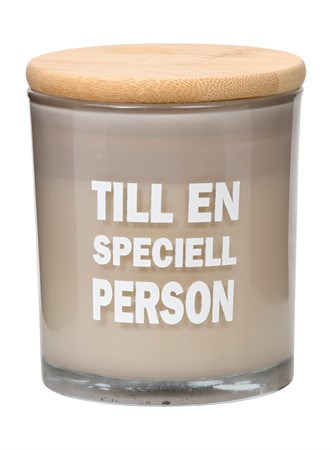 SCENTED CANDLE SPECIELL PERSON
