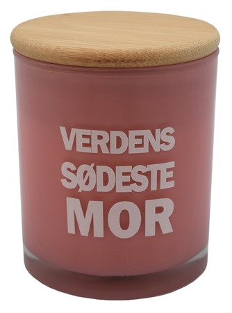 SCENTED CANDLE MOR (DK)