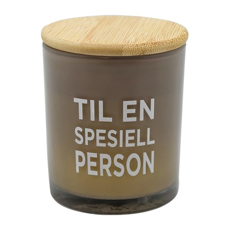 SCENTED CANDLE SPESIELL PERSON (N)