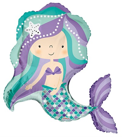 FOIL BALLOON MERMAID 91 CM (6)