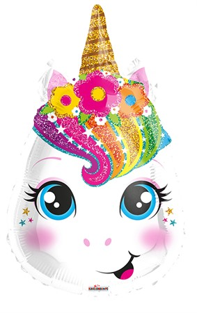 FOIL BALLOON UNICORN FACE 46 CM (6)