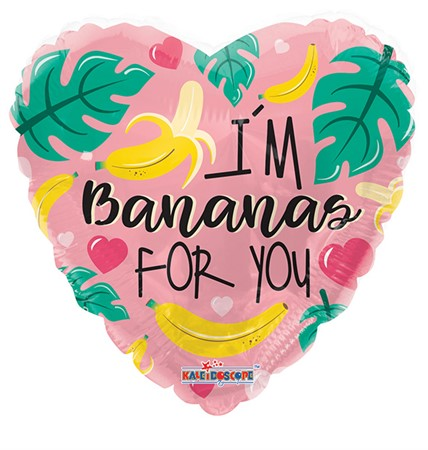 FOIL BALLOON I'M BANANAS FOR YOU 46 CM (6)