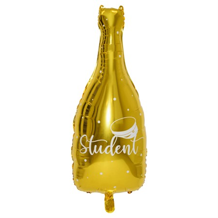 FOIL BALLOON BOTTLE STUDENT