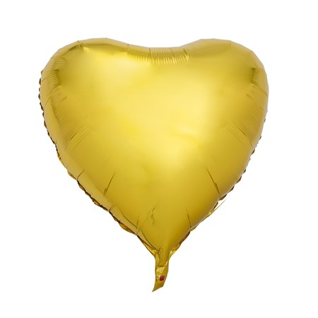 FOIL BALLOON BIG GOLD HEART