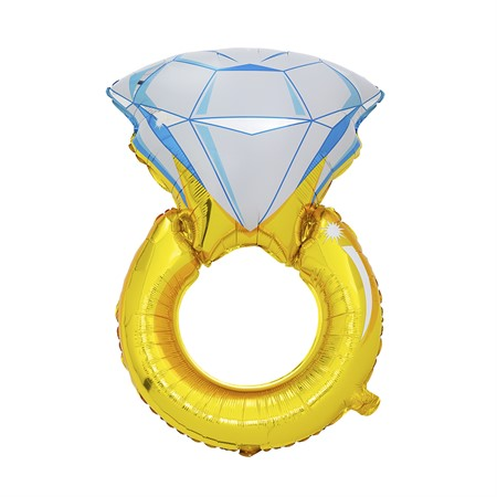 FOIL BALLOON DIAMOND RING 75 CM (6)
