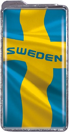 LIGHTER SWEDEN FLAG