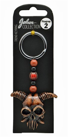 KEYRING ANIMAL SCULL (3)