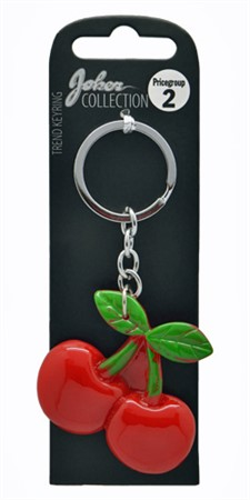 KEYRING CHERRIES (3)