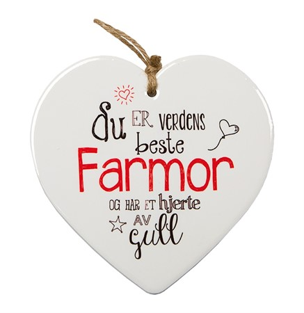 "MESSAGE HEART ""FARMOR"" (N) (3)"